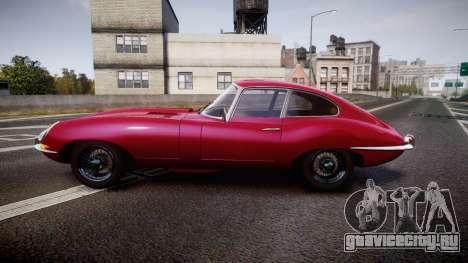 Jaguar E-type 1961 для GTA 4 вид слева