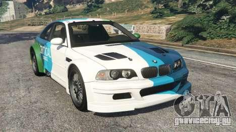 BMW M3 GTR E46 PJ1 для GTA 5