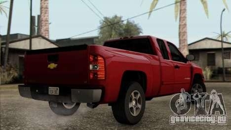 Chevrolet Silverado 1500 LT 2010 для GTA San Andreas вид слева