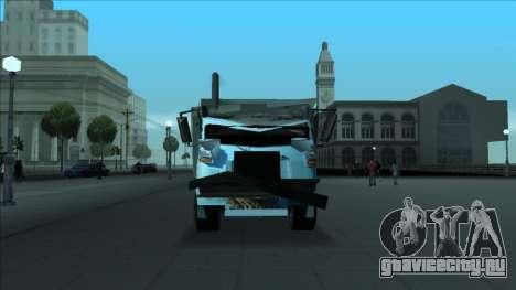 TDK Volvo Xpeditor Garbage Crash Version для GTA San Andreas вид сверху