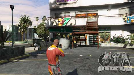 AK47 - Asiimov Edition для GTA 5 третий скриншот