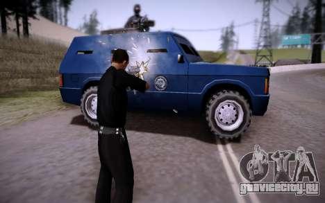 Броневик Huntley для GTA San Andreas вид справа