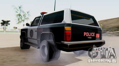 Police Ranger with Lightbars для GTA San Andreas вид слева
