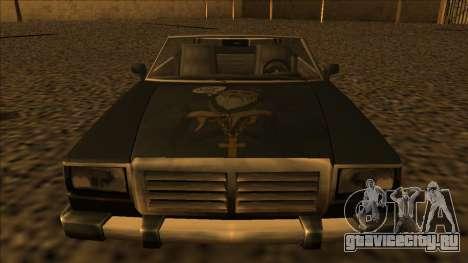 FreeShow Feltzer для GTA San Andreas вид сзади слева