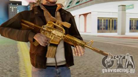 CAR-15 SA Style для GTA San Andreas третий скриншот