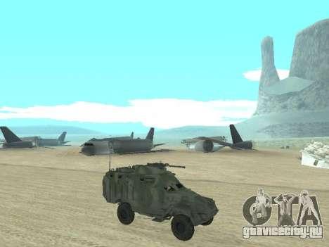 БТР 40 для GTA San Andreas вид сверху