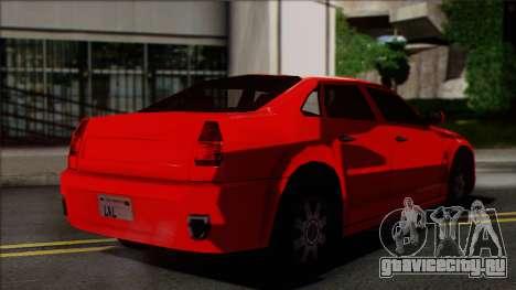 Chrysler 300C SA Style для GTA San Andreas вид слева