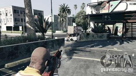 M-76 Revenant из Mass Effect 2 для GTA 5 шестой скриншот