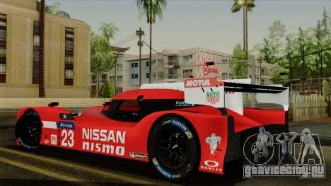 Nissan GTR LM LMP1 2015 для GTA San Andreas вид слева