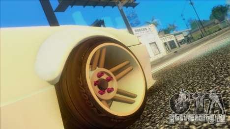 Elegy Rocket Bunny Edition для GTA San Andreas вид справа
