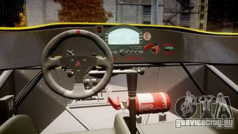Radical SR8 RX 2011 [30] для GTA 4 вид сзади