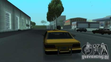 New Taxi для GTA San Andreas салон