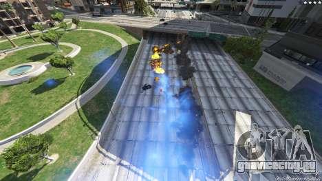 UFO Mod 1.1 для GTA 5 третий скриншот