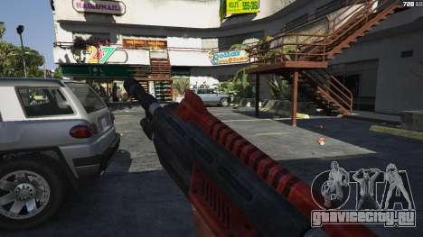 M-76 Revenant из Mass Effect 2 для GTA 5 третий скриншот