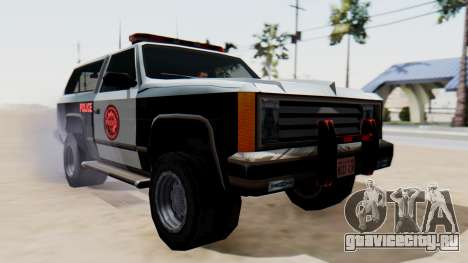 Police Ranger with Lightbars для GTA San Andreas