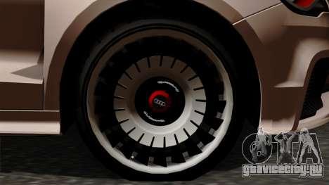 Audi A1 Quattro Clubsport для GTA San Andreas вид сзади слева