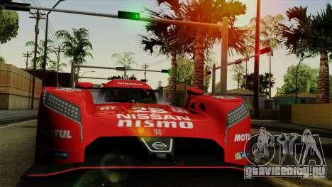 Nissan GTR LM LMP1 2015 для GTA San Andreas