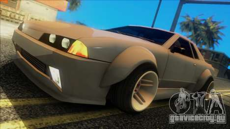 Elegy Rocket Bunny Edition для GTA San Andreas вид сзади слева