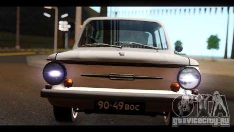 ЗАЗ 968А для GTA San Andreas вид справа