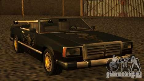 FreeShow Feltzer для GTA San Andreas вид слева
