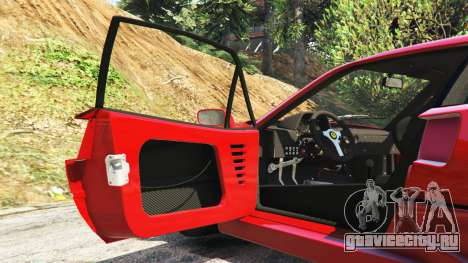 Ferrari F40 1987 v1.1 для GTA 5 руль и приборная панель