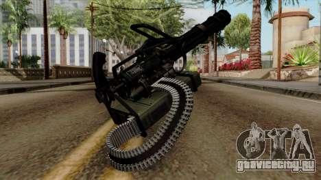 Original HD Minigun для GTA San Andreas второй скриншот