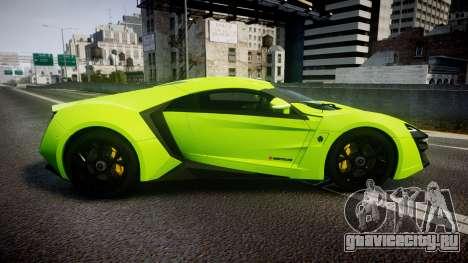 Lykan HyperSport 2014 [EPM] для GTA 4 вид слева