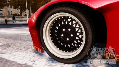 Mazda RX-7 RocketBunny EPM для GTA 4 вид сзади слева