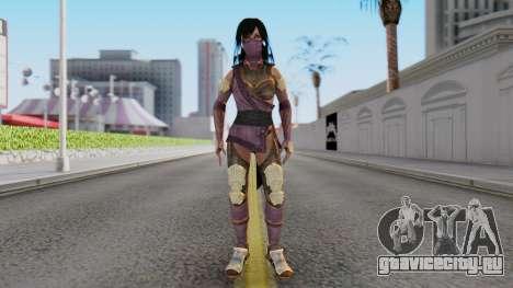 [MKX] Mileena для GTA San Andreas второй скриншот