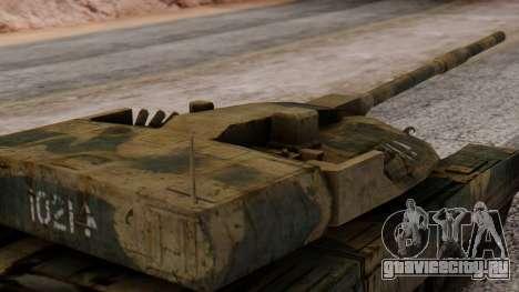 T-95 from Arctic Combat для GTA San Andreas вид справа