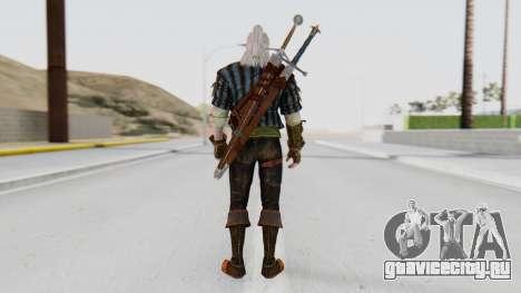 [The Witcher] Геральт для GTA San Andreas третий скриншот