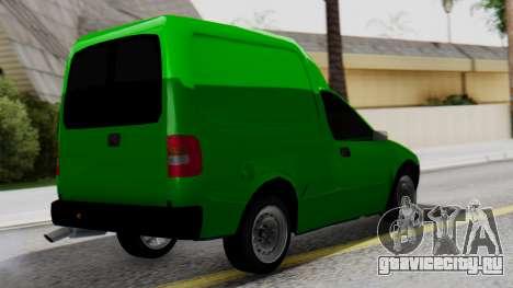 Chevrolet Combo 1.4 v2 для GTA San Andreas вид слева