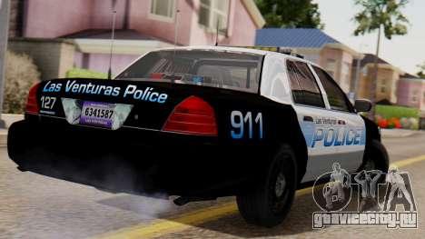Police LV 2013 для GTA San Andreas вид слева