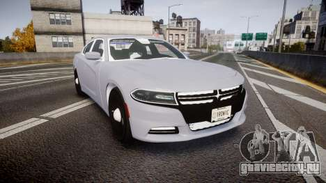 Dodge Charger 2015 Unmarked [ELS] для GTA 4