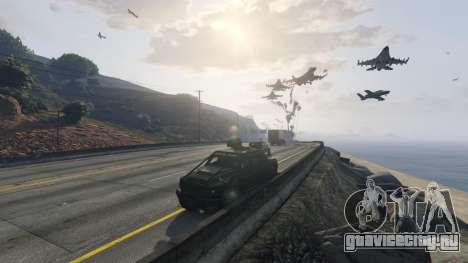 Angry Planes для GTA 5 седьмой скриншот