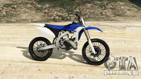 Yamaha YZ 250 [Beta] для GTA 5 вид слева