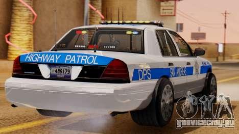 Police Ranger 2013 для GTA San Andreas вид слева