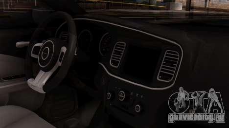 Dodge Charger SRT8 2012 LD для GTA San Andreas вид справа