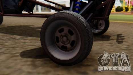 Двухместный Bandito для GTA San Andreas вид сзади слева