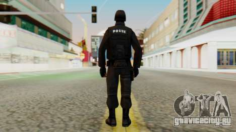 Видоизмененный SWAT для GTA San Andreas третий скриншот