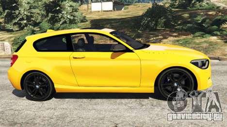 BMW M135i (F21) 2013 для GTA 5 вид слева
