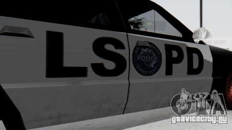 Police LS with Lightbars для GTA San Andreas вид справа