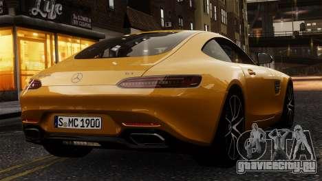 Mercedes-Benz SLS AMG GT 2016 для GTA 4 вид справа