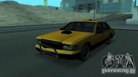 New Taxi для GTA San Andreas