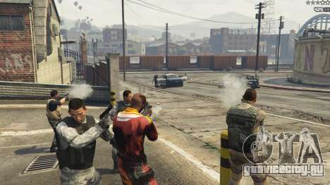 Battleground: Armored Packs v2.3.1 для GTA 5 пятый скриншот