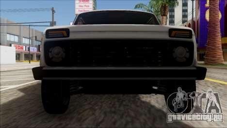 ВАЗ 2121 Нива BUFG Edition для GTA San Andreas вид сбоку