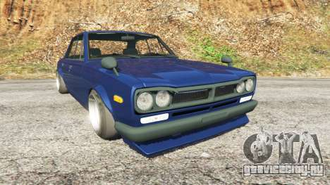 Nissan Skyline 2000 GT-R 1970 v0.2 [Beta] для GTA 5