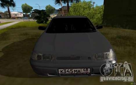 ВАЗ 2112 Липецк для GTA San Andreas вид справа
