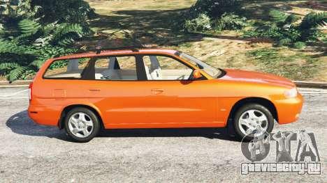 Daewoo Nubira I Wagon CDX US 1999 для GTA 5 вид слева