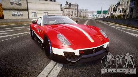 Ferrari 599XX 2010 Scuderia Ferrari для GTA 4